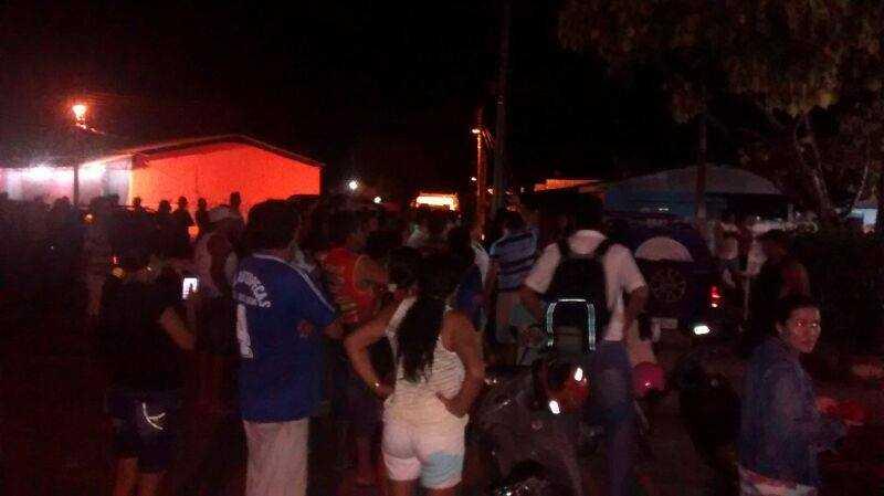 Presos fazem princípio de rebelião em delegacia do município de Barcelos no AM / Divulgação