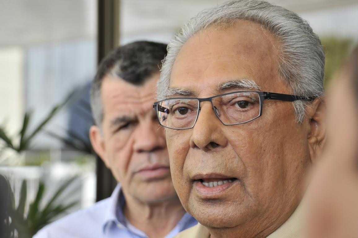 Amazonino e Bosco, governador e vice do Amazonas, serão diplomados hoje em cerimônia no TRE / Divulgação