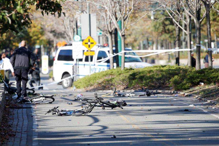 Ataque terrorista deixa 8 mortos em Nova York- Imagem: Dilvulgação
