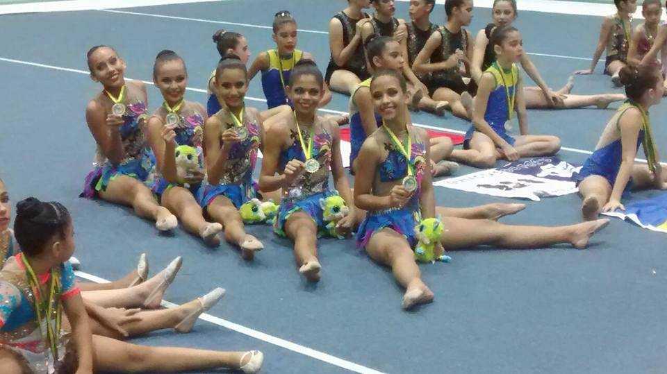 Atletas Amazonenses Campeãs de Ginástica Rítmica buscam ajuda para competição nacional através das redes sociais / Reprodução Facebook