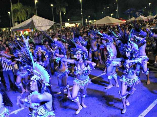 Toadas do boi Caprichoso animaram evento (Foto: Sérgio Rodrigues/G1 AM)