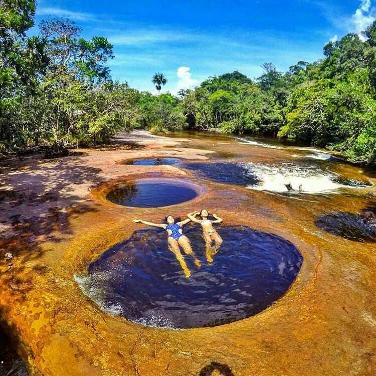 Cachoeira do Mutum em Presidente Figueiredo Amazonas / Divulgação