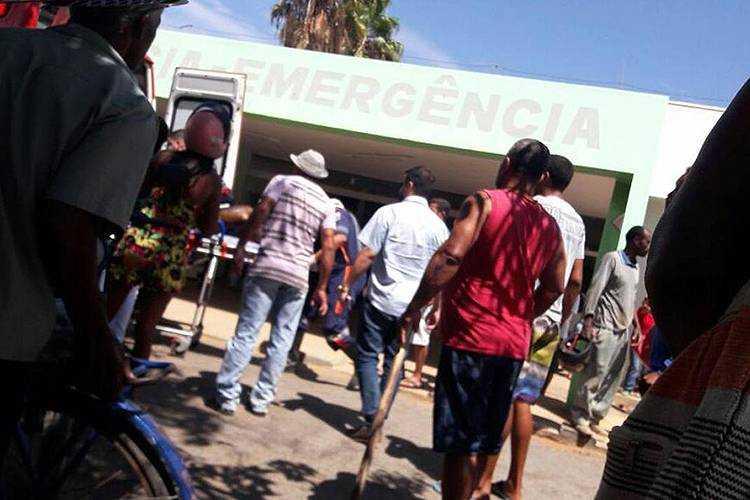Criança conta que segurança ofereceu sorvete em seguida jogou gasolina e ateou fogo - Imagem: Divulgação