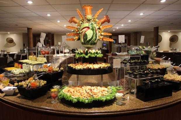 Decoração do jantar do comandante do Grand Amazon (www.iberostar.com) / Divulgação