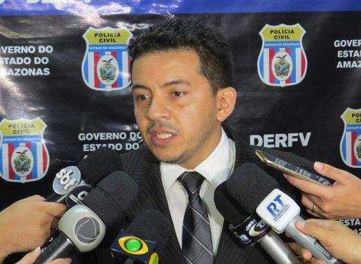 O Delegado da Policia Civil do Amazonas, Dr.Péricles Rodrigues do Nascimento - Imagem: Divulgação