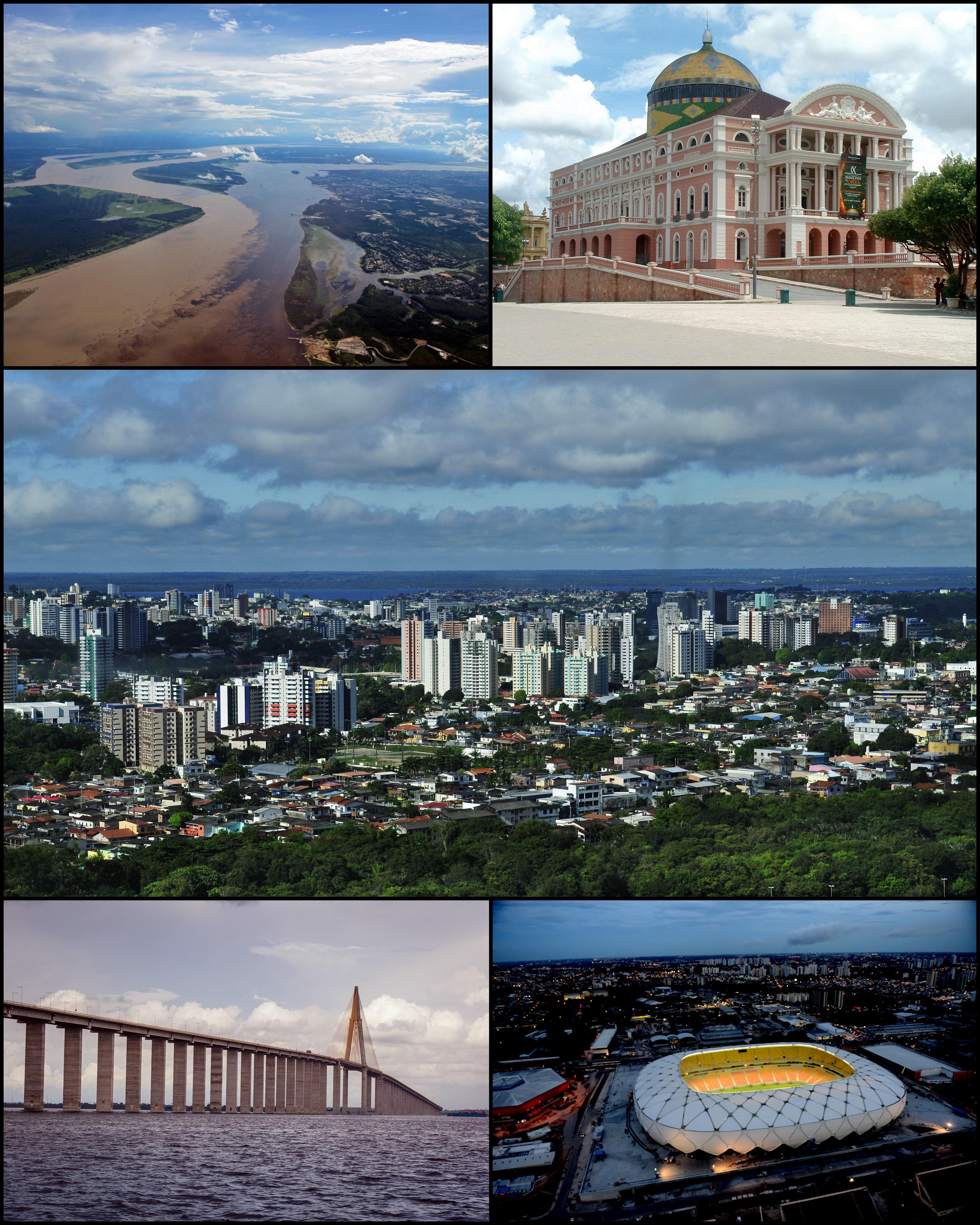 Espia só algumas curiosidades sobre Manaus- Imagem: Divulgação