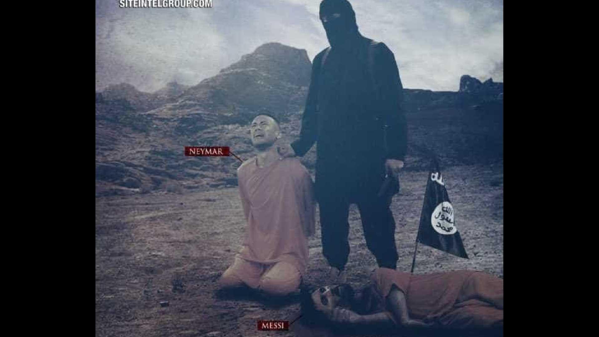 Estado Islâmico usa imagem de Neymar em ameaça de atentado à Copa 2018 - Imagem : Divulgação