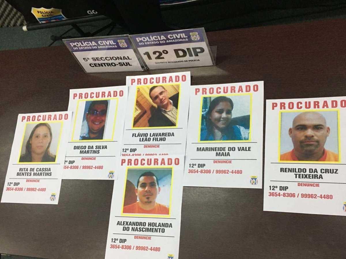 Polícia procura seis por desviar R$ 6 milhões da Manaus Unimed - Imagem: Divulgação