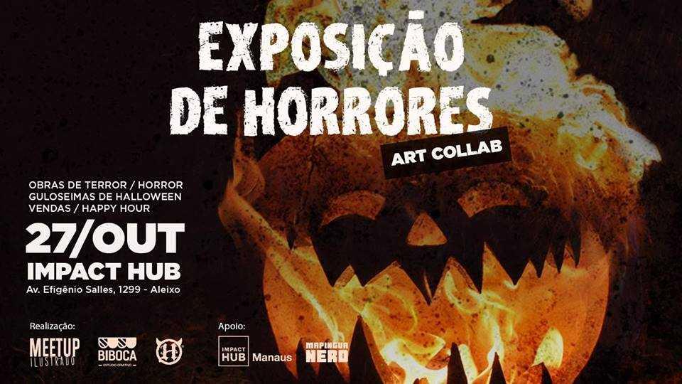 xposição de Horrores para comemorar o Halloween em Manaus / DIvulgação