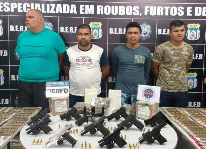 Gerente planejou roubo de armas da loja de caça e pesca, segundo Polícia - Imagem: Pedro Braga Junior