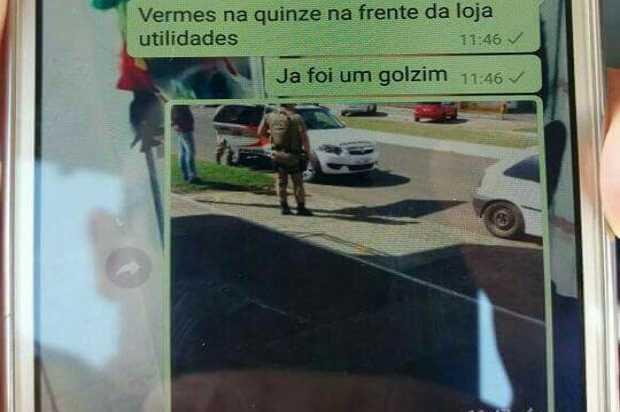 Homem é preso após dedurar blitz da polícia - Imagem: Divulgação