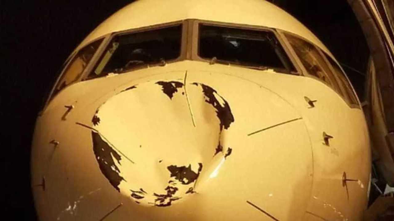Jogadores de time da NBA tomam susto com buraco em avião-Imagem: Divulgação