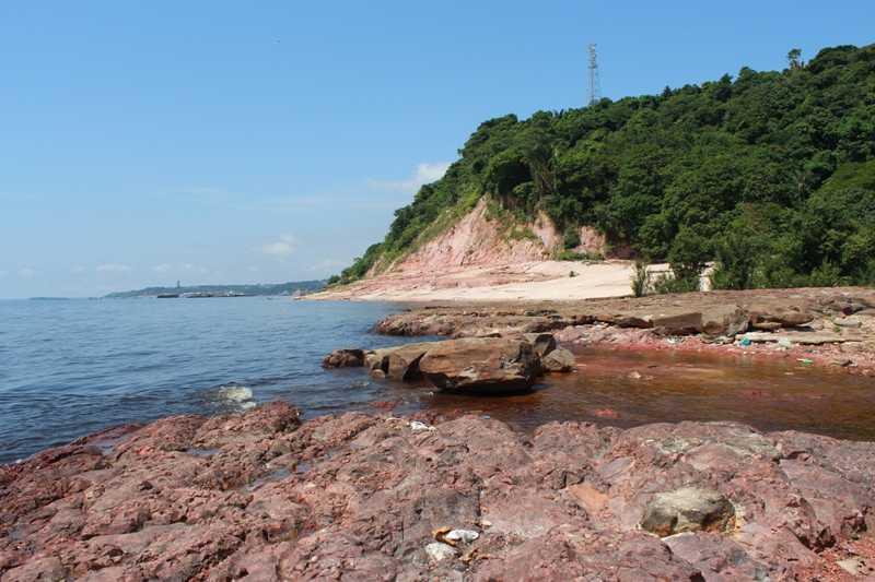 Jovem cai no rio ao fugir de bandidos e morre afogado, Ponta das Lajes em Manaus- Imagem: Divulgação