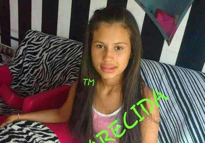 A adolescente de 14 anos Juliana Leite de Oliveira, que estava desaparecida em Manaus, foi encontrada Imagem : Divulgação