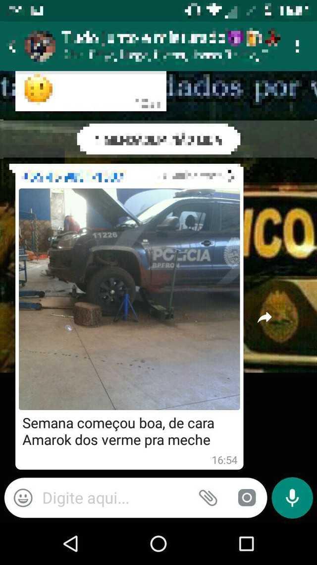 Jovem é detido depois de chamar policiais de 'vermes' no WhatsApp - Imagem:  Divulgação
