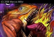 Tudo sobre o demônio indígena chamado Jurupari / Ilustração por Marcos Miller
