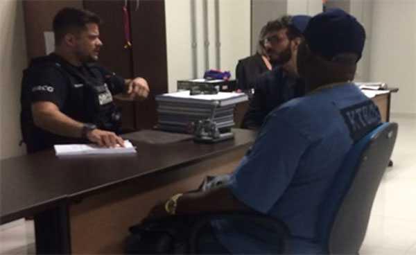 Mr Catra preso em Manaus / Foto: Divulgação / Assessoria de Imprensa da PC-AM