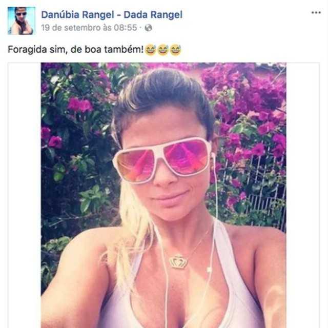 Danúbia foi presa nesta terça-feira no Rio - Imagem: Reprodução