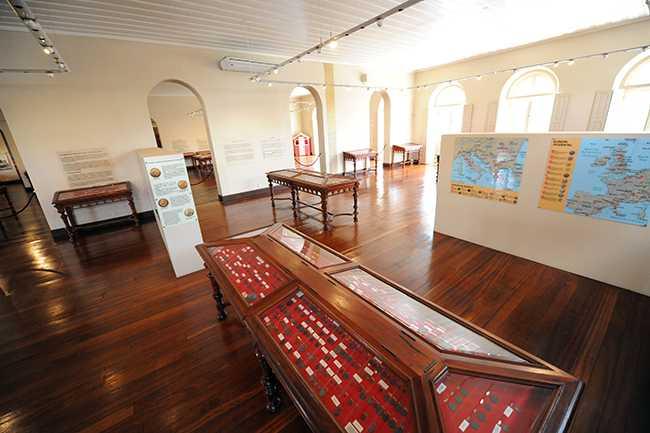 Museu de Numismática Bernardo Ramos/ FOTO Divulgação-SEC