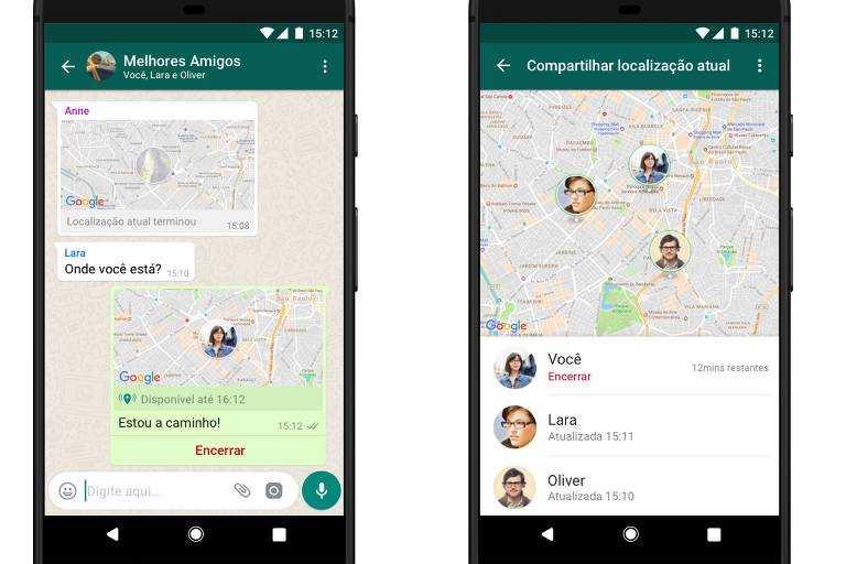 Saiba como enviar localização em tempo real no WhatsApp- Imagem: Divulgação