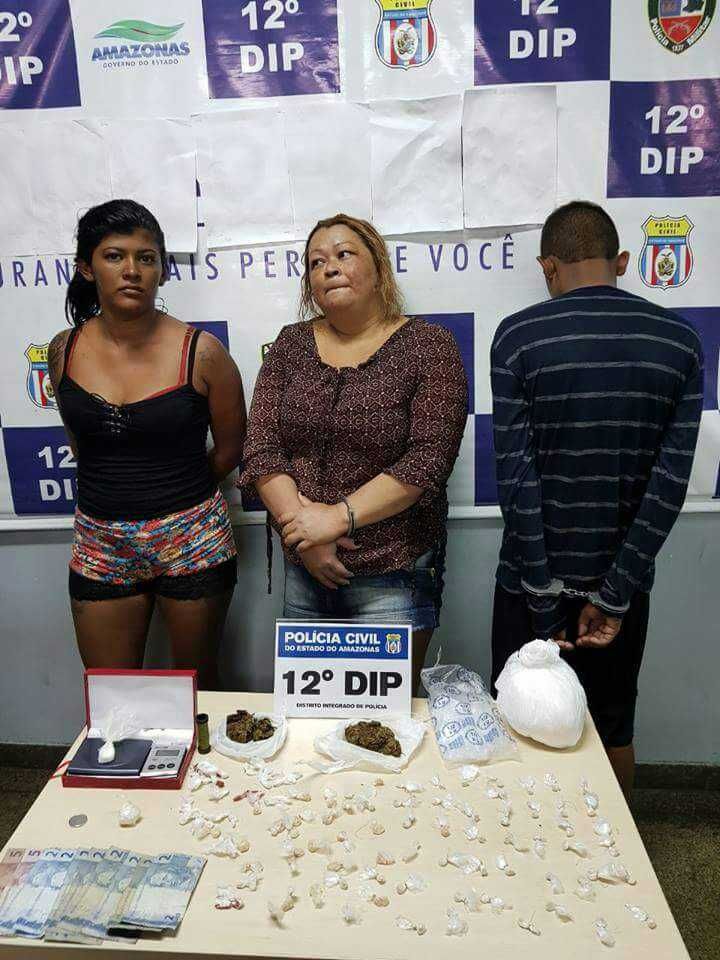 ANDREZA SOUSA PEREIRA, CLAUDIA FERREIRA PEDROSA e I.P.S. - Imagem: Divulgação/PM