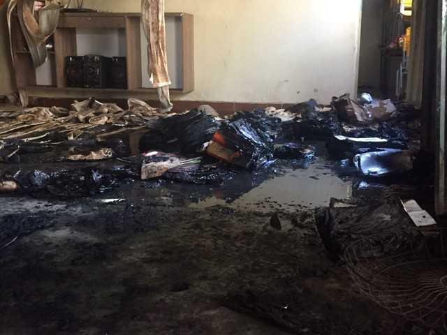 Incêndio matou 4 crianças e destruiu salas de aulas de creche - Imagem:  Natália Jael/Inter TV Grande Minas