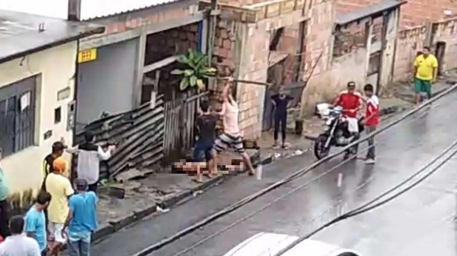 Suspeito de matar padastro a pauladas é preso em Manaus -Imagem: Reprodução
