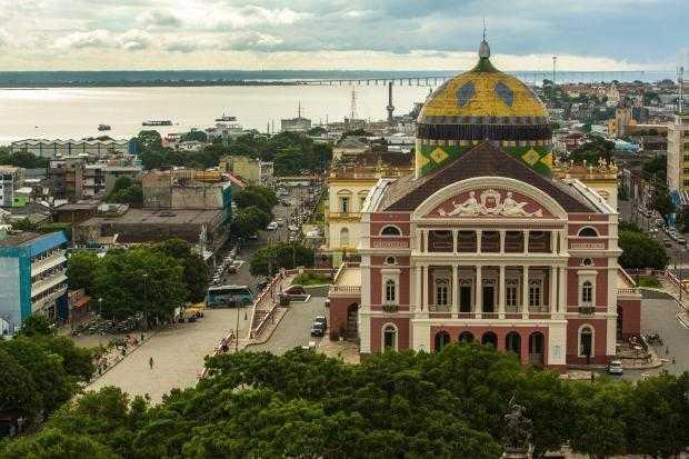Teatro Amazonas: construção-símbolo de Manaus é uma herança do Ciclo da Borracha / Divulgação
