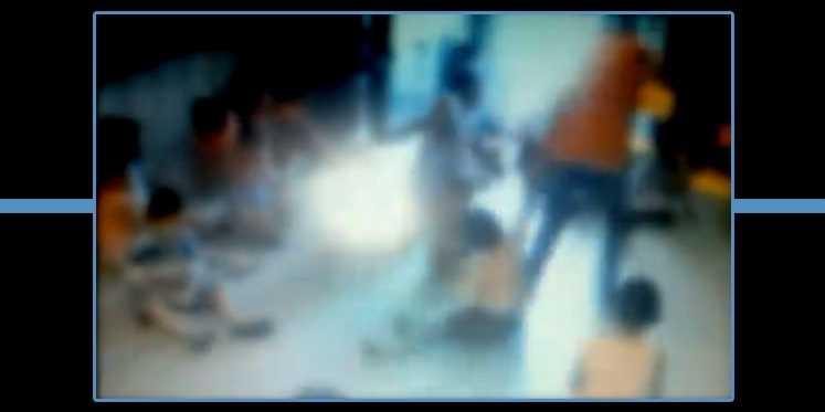 Vídeo registra professora agredindo crianças em creche - Imagem: Reprodução