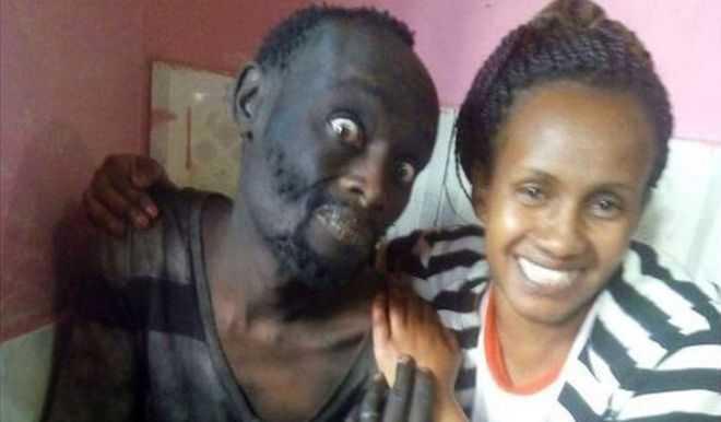 Wanja Mwaura e Patrick Hinga Wanjiru / Foto : Divulgação