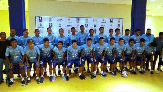 Seleção Amazonense de Futebol / Foto: Marcos Dantas / Divulgação