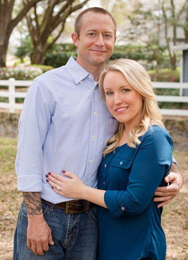 Melissa  e o novo marido / Arquivo Pessoal
