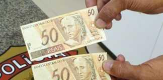 Notas falsas de 50 reais estão circulando em Santa Isabel do Rio Negro-Am