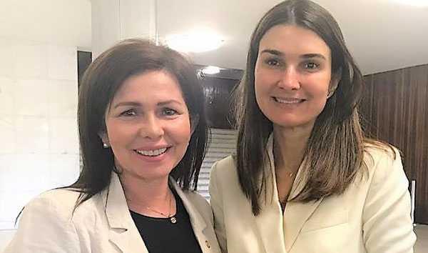 Conceição e Rebecca Garcia/Foto: Divulgação