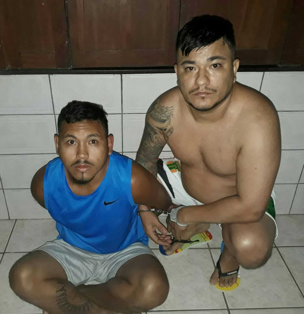 Divulgado fotos dos integrantes da alta cúpula da FDN presos nesta manhã na Operação Resposta / Divulgação Portal do Capitão