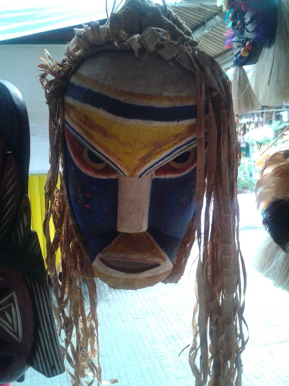 Referência Máscara Indígena - Feira de Manaus / Divulgação