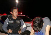 Tenente Oliveira Frota e Cabo Israel salvam a jovem