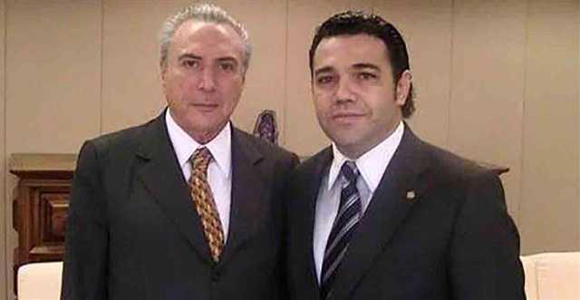 Presidente Michel Temer e deputado federal Marcos Feliciano / foto : Divulgação