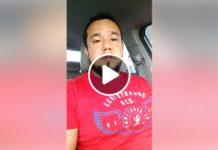 Proprietário do Deck Sushi Bar esclarece em vídeo o que houve / Reprodução Facebook