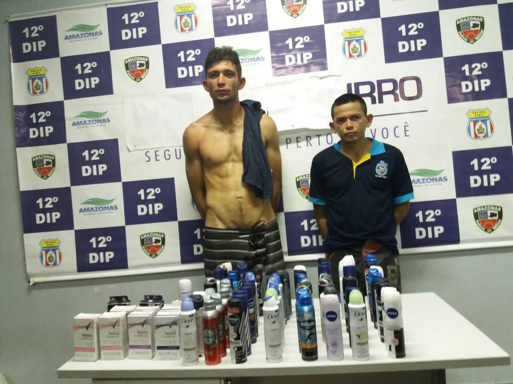Bandidos roubam R$ 2 mil em desodorantes e sabonetes em drogaria de Manaus - Imagem: Divulgação