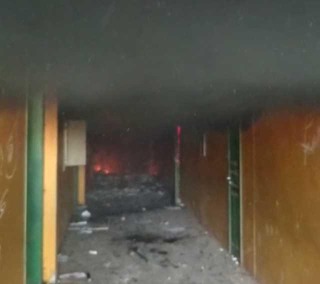 Incêndio destrói escola em Lábrea no Amazonas - Imagem: Divulgação/PM