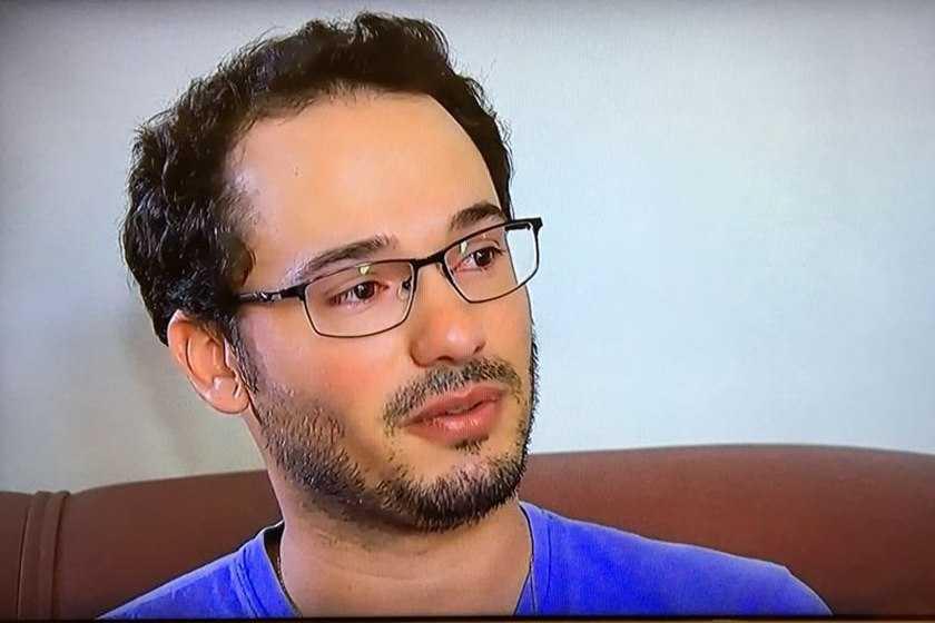 Marcos Antônio da Silva, 28 anos, namorado de Kelly Cristina, está em choque - Imagem: Divulgação