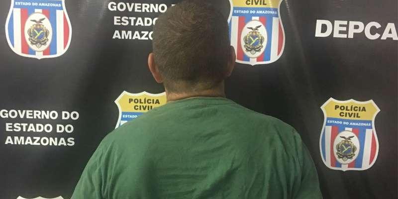 Polícia prende pai que estuprava filhas em Manaus - Imagem: Divulgação/PCAM