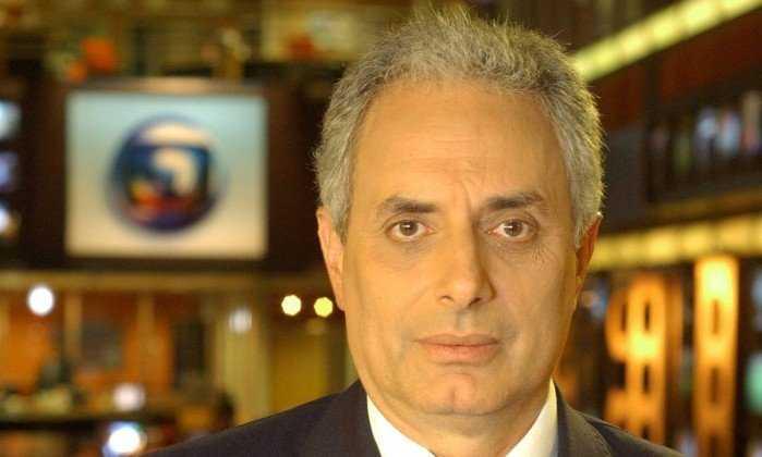 William Waack é afastado do Jornal da Globo após vídeo cair na web - Imagem : Divulgação