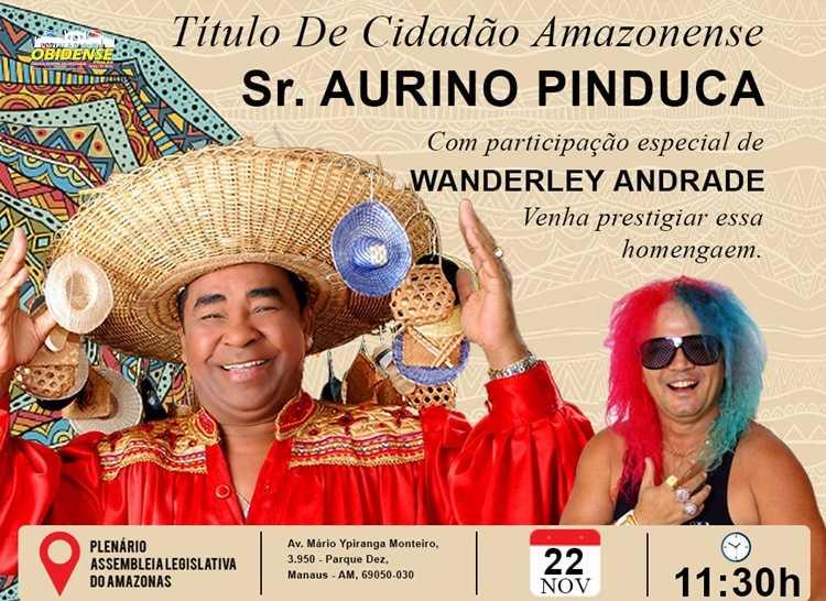 Pinduca e Wanderley Andrade / Arte: Divulgação