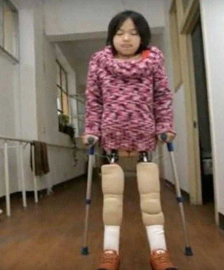 A chinesa Qian Hongyan - a menina bola / Divulgação
