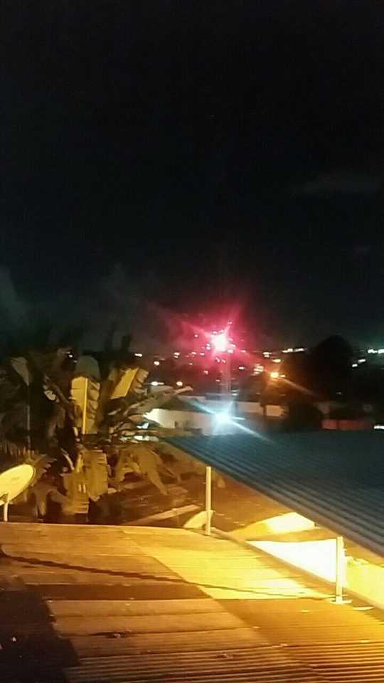 Bandidos comemoram aniversário de 45 anos de Zé Roberto com grande queima de fogos em Manaus - Imagem: Bairro da Redenção