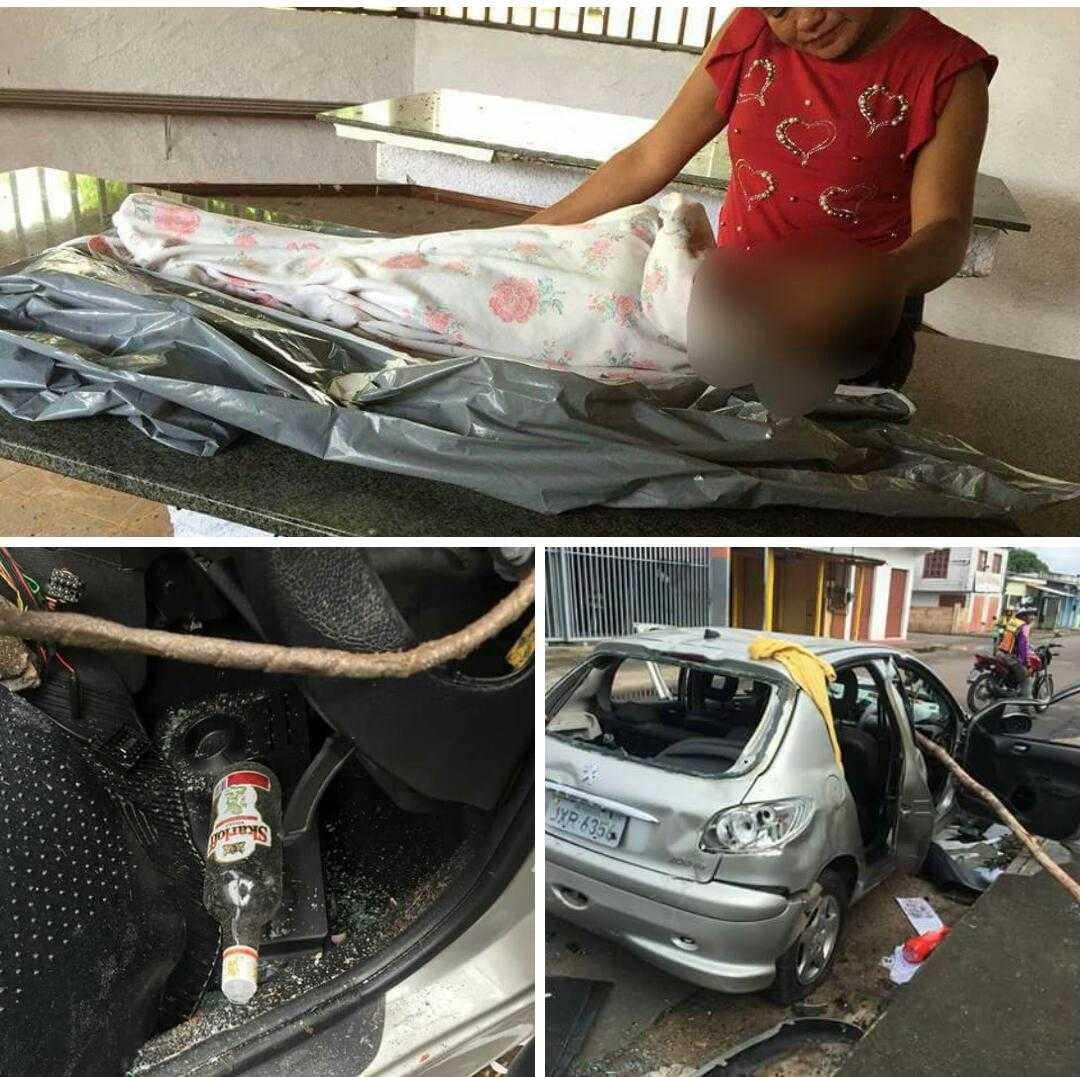 Criança de 4 anos morre após ser atropelada por motorista embriagado em Manacapuru - Imagem :Rádio Palmeira FM