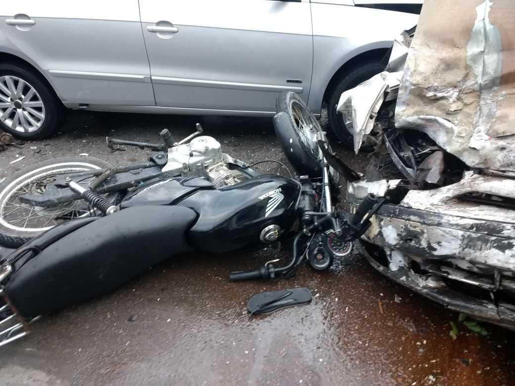 Grave acidente deixa um homem morto e cinco feridos no Distrito Industrial de Manaus - Imagem: Whatsapp