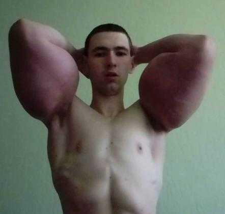 Kirill Tereshin, conhecido como Popeye / Divulgação